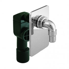 Siphon flush-mounting OMP for washing machine in PEHD D. 40/50 2112.150.8