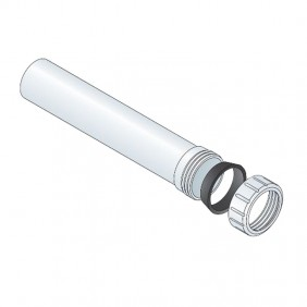 Extension sleeve PP OMP diameter 40 White 2100.322.6