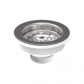 Drain for kitchen sink OMP PP with hole, diameter 90mm 133.505.6