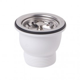 Drain for kitchen sink OMP PP with a hole diameter of 60 132.505.6