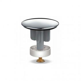Tappo saltarello per lavabo OMP in ottone cromato diametro 40 120.360.5