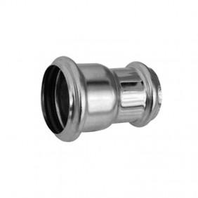 Manicotto OMP con riduzione 40x32 in ottone cromato con 2 O-ring 102.165.6