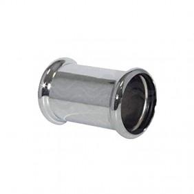 Manicotto OMP in ottone cromato con due O-ring diametro 32 102.160.5