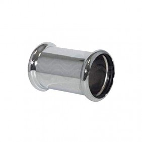 Sleeve OMP in chrome-plated brass with two O-ring diameter 26 102.160.4