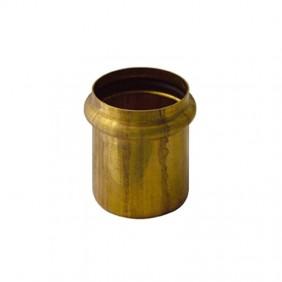 Raccordo OMP in ottone a saldare e O-ring diametro 26 101.170.4.0