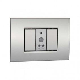Motion detector twilight Vemer 1 module Silver VE765200