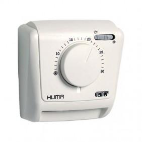 Thermostat mécanique Vemer Klima SW pour montage mural avec membrane gazeuse VE023800