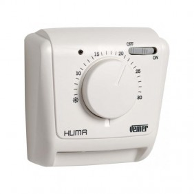 Mechanical thermostat Vemer Klima SI for wall mounting with gas membrane VE021200