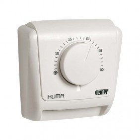 Mechanical thermostat Vemer Klima 2 for wall mounting with gas membrane VE018800
