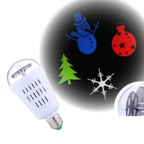 Projector bulb pictures of Christmas Giocoplast for indoor E27