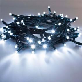 Serie de Luces de Navidad 240 LED de Luz Blanca del cable de la oscuridad interior/exterior