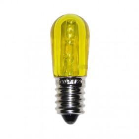 Lampadina luminaria LED Wimex 3LED attacco E14 12V Gialla 4500932