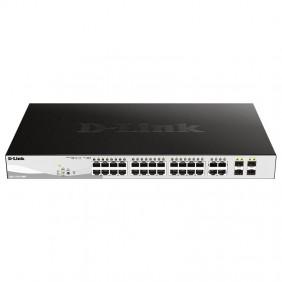 Switch D-link 24 POE ports + 4 ports combo Gigabit GbE/SFP DGS-1210-28MP