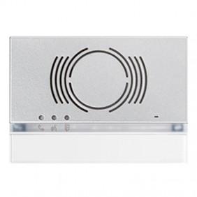 Bisel de Urmet Alfa para el audio externo Blanco 1168/130W