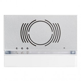 Frontalino Urmet Alpha per posto esterno audio Bianco 1168/130W