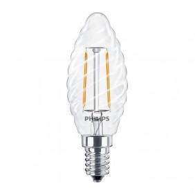 Bombilla de luz de Giro Philips LED filamento 2.3 W E14 2700K PHILEDTOR25E14