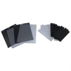 Pack 10 Cartelini Urmet ALPHA for individual keys Black 1168/100