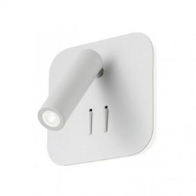 Appliques Refaire QUDA 6W+3W avec prise USB 3000K Blanc 01-1491