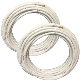 """Kit Tecnogas FAST PIPE pipes air conditioners 6 metre 1/4"""" 3/8"""""""