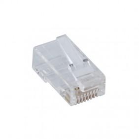 Spina Plug Fanton CAT6 FTP 8/8 RJ45 schermato 23729
