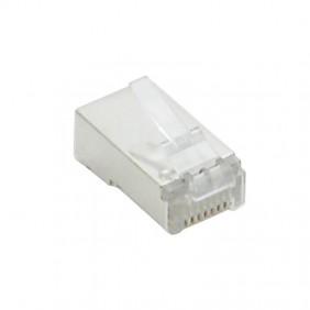 Plug Fanton CAT5E 8/8 RJ45 schermato FTP 23724