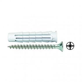 Tassello con Vite Elematic Nylon T6 diametro 6 x 30mm 100 pezzi 565390