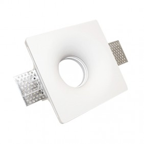 Spotlight plaster we can provide and advise square for lamps GU10 120x120mm 400954