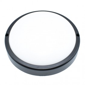 Ceiling light Led we can provide and advise MARTHA 15W 4200K Round Black 400918N