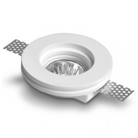 Spotlight plaster we can provide and advise the round for lamps GU10 100mm 400720