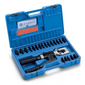 Kit Cembre Hydraulic cutting Tool and 8 pairs matrices 25/185mmq KIT-HT51-1