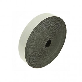 Tape flexible Nylon-December 19mm Black/White 18489