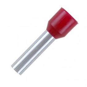 Tubo de Cembre terminal preisolato 1,5 mmq 8mm piezas 500 PKC1508