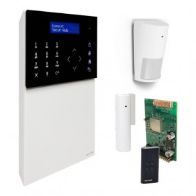 kit intrusion detection wireless Comelit SECUR HUB 2G KSW3220L