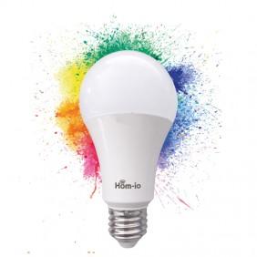 Lampadina Goccia Smart Melchioni IO WIFI 10W RGBW attacco E27 559593001
