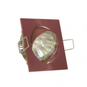 Downlight square recessed adjustable we can provide and advise GU10 color Copper 400619RA-GU10