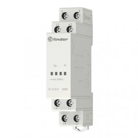 Relè di chiamata Finder 12V AC 1 modulo DC 131200120000