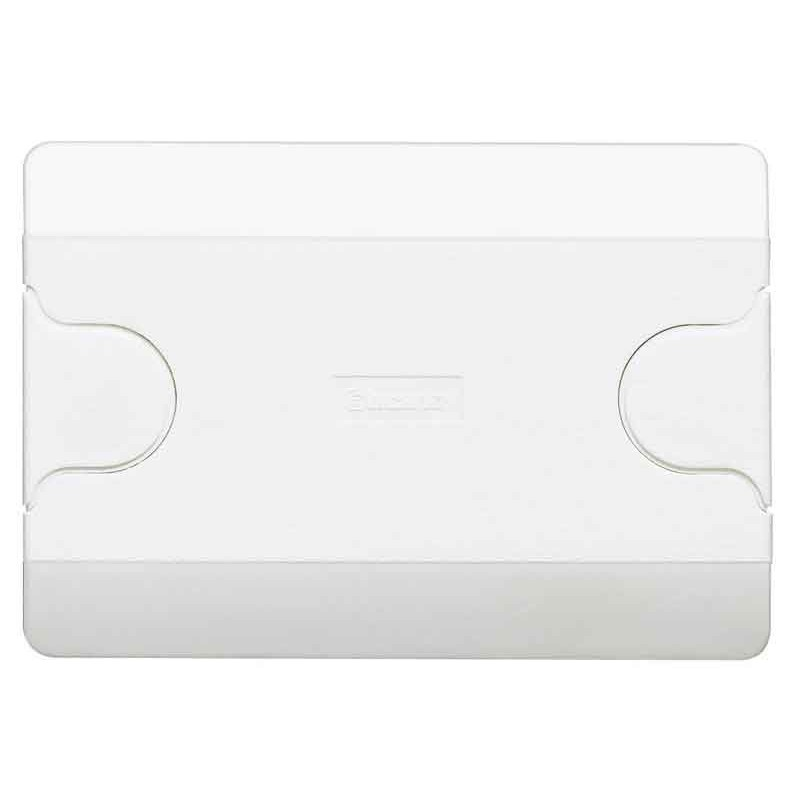 BTICINO LID FOR BOX TO 3 SEATS RECESSED OR WALL PAINTABLE 503EC
