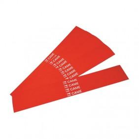 Strisce rifrangenti adesive Came per barriere automatiche Rosse 001G02809