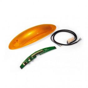 Lampeggiatore integrato a cupola Came per barriere ad Aste 001G02801