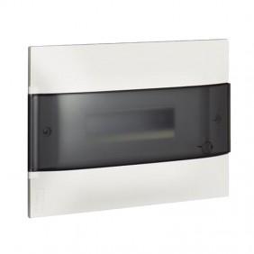 Switchboard recessed Bticino Line Habita 12 Modules smoky White E315P12