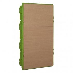 Caja empotrada Bticino para paneles de yeso en el ESPACIO de 36 Formas F315SC36D3