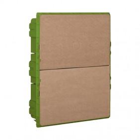 Caja empotrada Bticino de yeso ESPACIO de 24 Módulos F315SC24