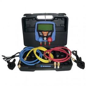 Kit manometrico e vacuometro Tecnogas DIGIT-VACUUM per Gas R32 11437