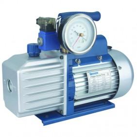 Vacuum pump Tecnogas TGAS-DS1 with solenoid valve and vacuum gauge 11165
