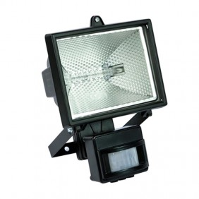 HALOGEN LIGHT IP 54 500W + LAMP + DETECTOR