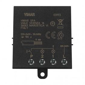 Modulo relé Vimar ad impulsi 4 sequenze Quid 10A 03993