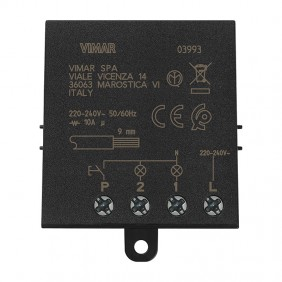 Vimar pulse relay module 4 sequences Quid 10A 03993