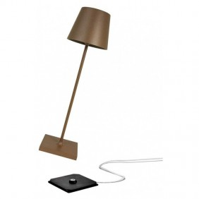Table lamp Flank Poldina Pro 2,2 W 3000K colour Corten LD0340R3