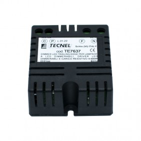 Dimmer Tecnel for Lamps and LED Strips TE7637
