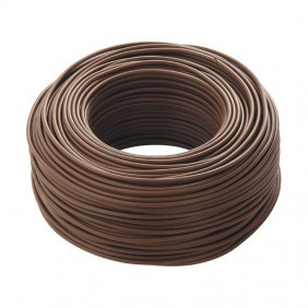 Cable FG17 1X1,5mmq 450/750V Brown 100 Metres